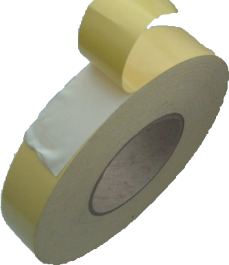 25mm x 50m Double Sided Cloth Tape (TES710) - Click Image to Close