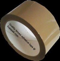 25mm x 66m Brown Polypropylene (PP) Tape
