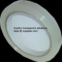 12mm x 66m Clear P.P. Tape 28mu solvent